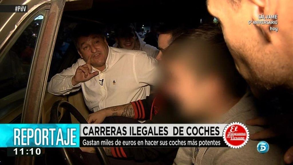 Reportaje 'AR': Así se gestan las carreras ilegales de coches en España
