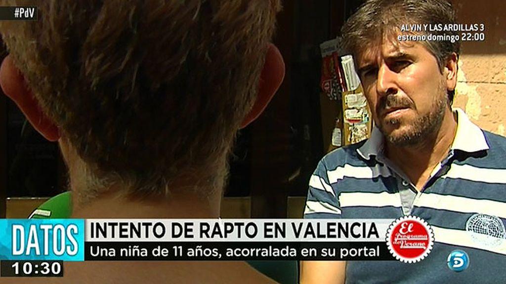 Intentan secuestrar a una menor de 11 años en Valencia