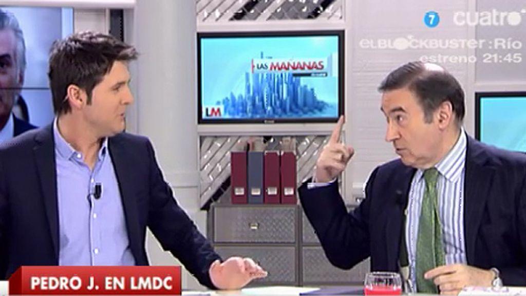 """Pedro J.: """"Que voten por quien quieran menos por los dos grandes partidos"""""""