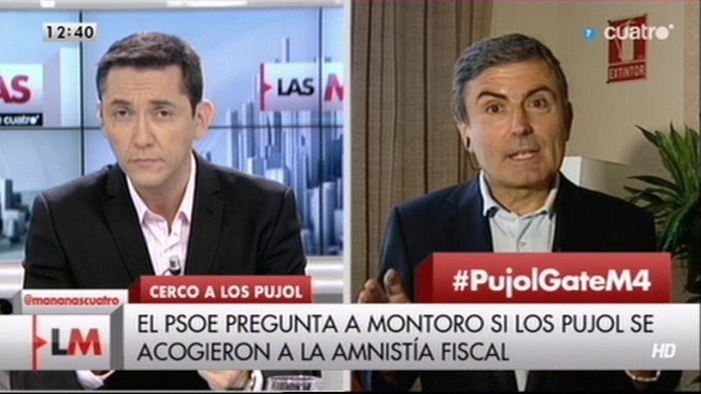 """P. Saura (PSOE): """"Tememos que Hacienda no hiciera bien su trabajo con los Pujol"""""""
