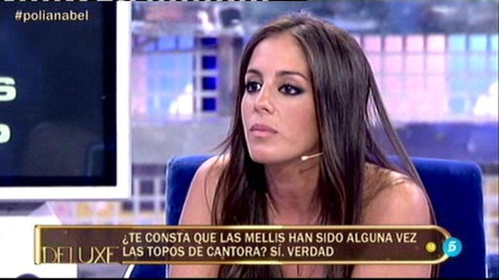 """Anabel Pantoja: """"me consta que las mellis han sido alguna vez las topos de Cantora"""""""