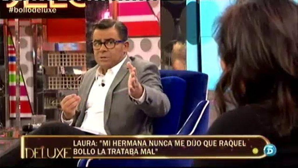 """Jorge Javier, a la hermana de Aguasanta: """"Tienes un morro que te lo pisas"""""""