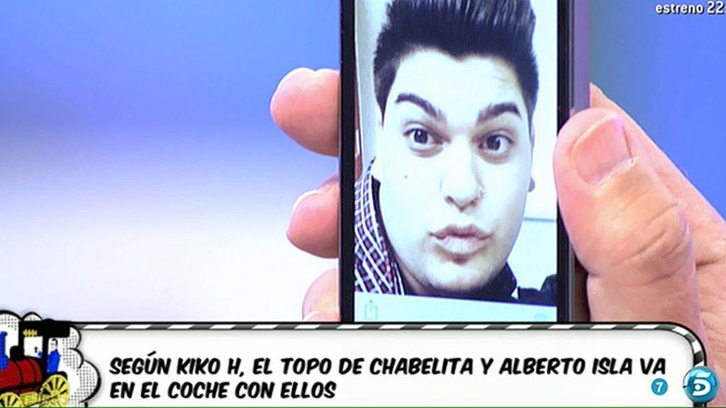 El topo de Chabelita es su amigo Sema, según Kiko Hernández