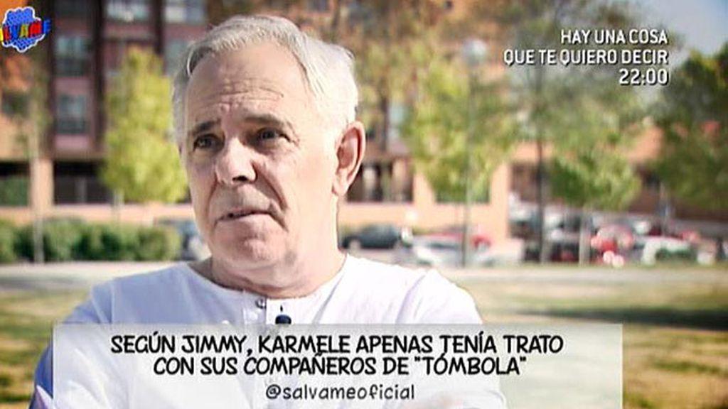 "Jimmy Giménez Arnau: ""Karmele y Lydia son dos disparates de la información"""