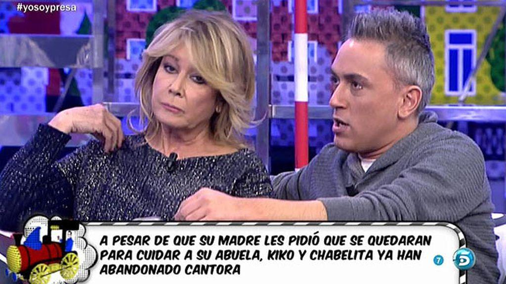 """Kiko: """"Isabel Pantoja discutió con Chabelita la noche anterior a entrar en prisión"""""""