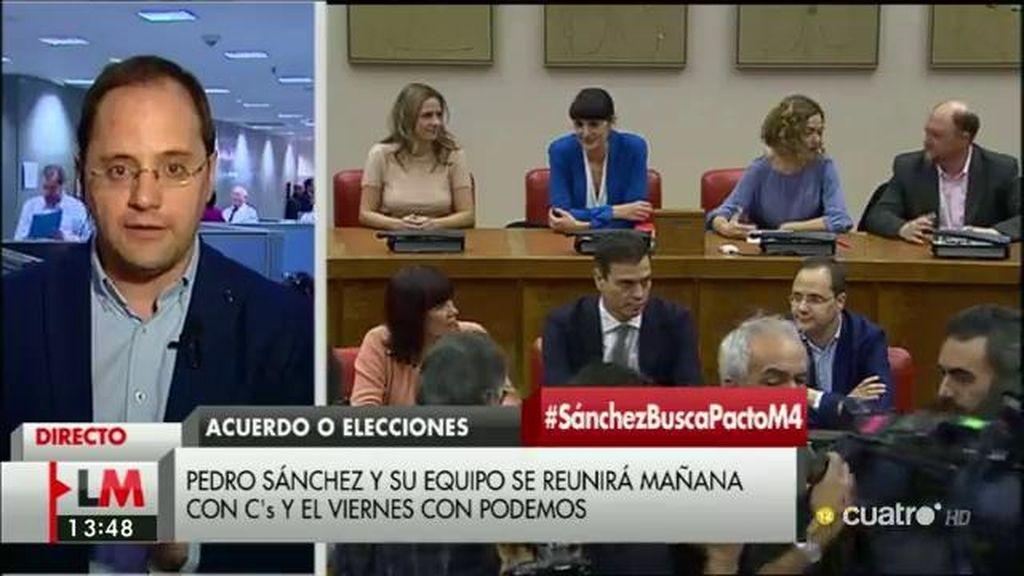 """César Luena: """"El Gobierno no se comparte, lo reparte el presidente del Gobierno"""""""