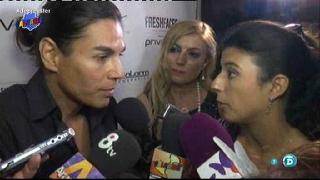 """Julio José Iglesias, tras la muerte de Miguel Boyer: """"Estamos apoyando a mi madre"""""""