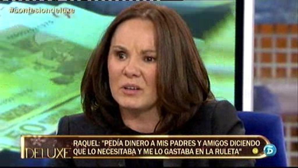 """Raquel Morillas: """"He gastado en el juego dinero que mi familia me daba para vivir"""""""