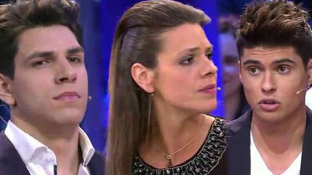 Máxima tensión entre los hermanastros: Javier Tudela se enfrenta a Diego y Laura