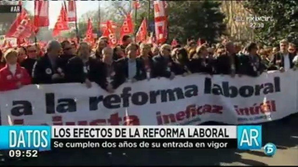 UGT cree que la reforma laboral del gobierno no ha servido para nada