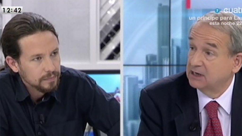 """Pablo Iglesias: """"Una cosa es crear empleo y otra hacer marketing"""""""