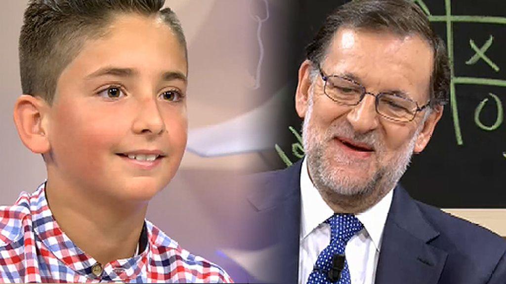 """Pablo, a Rajoy: """"Para darle envidia a mis amigos… ¿Puedo hacerme un selfie contigo?"""