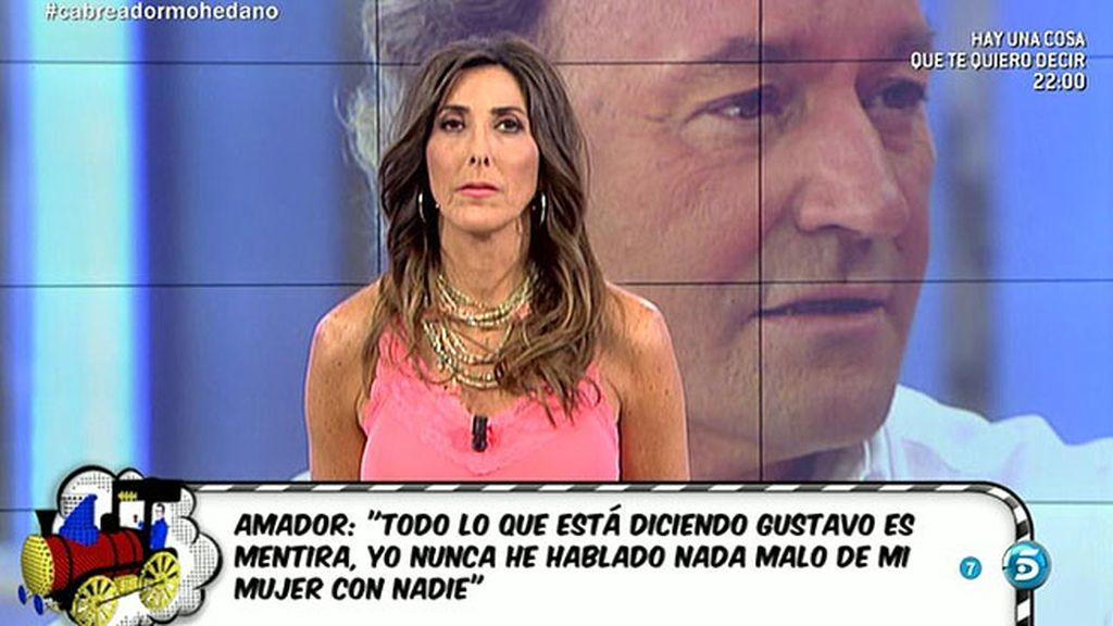 """Amador Mohedano: """"Estáis poniéndome como si yo fuera el monstruo """""""