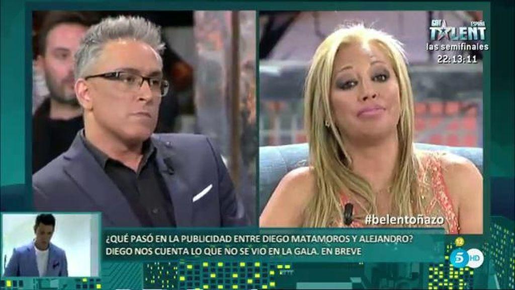 """Belén Esteban, a Toño Sanchís: """"No me busques, porque me encuentras"""""""