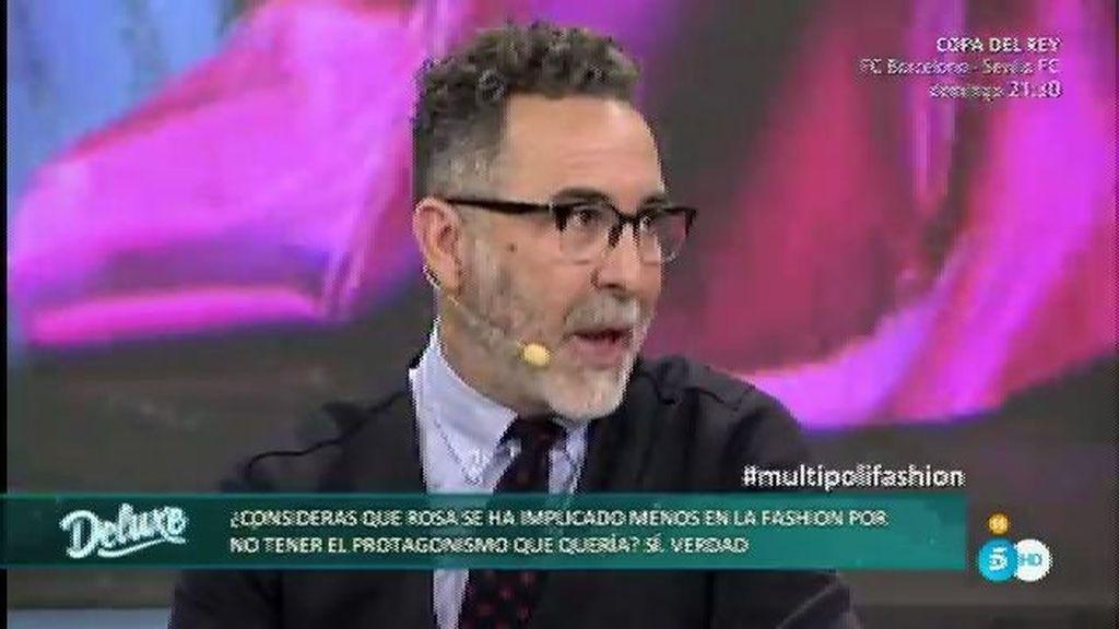 "Pedro González: ""Rosa estuvo magnifica pero estaba un poco afectada"""