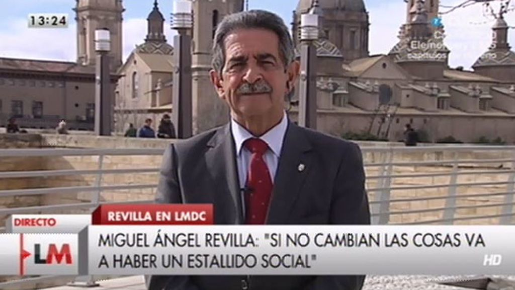 "Revilla, sobre Gamonal: ""España está desesperada, quieren agarrarse a cualquier cosa"""