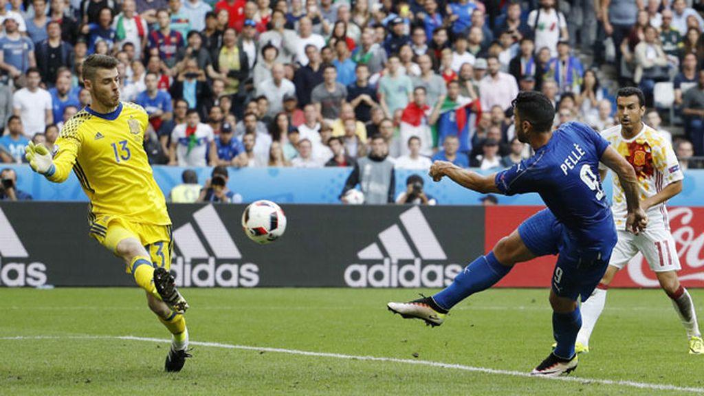¡Gol de Italia! Pellè sentencia el partido y manda a España para casa (2-0)
