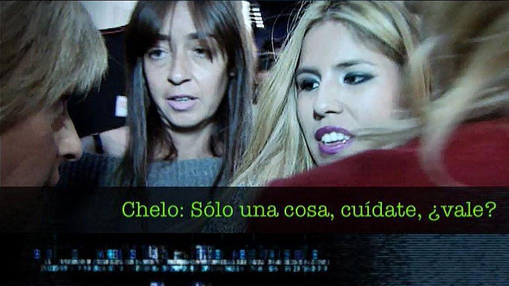 """Chabelita, imitando a Techi, llama a la colaboradora de 'Sálvame' """"Tita Chelo"""""""