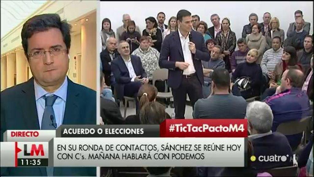 """Óscar López: """"Espero que las fuerzas que han apelado al cambio ahora hagan posible que haya un cambio de gobierno"""""""
