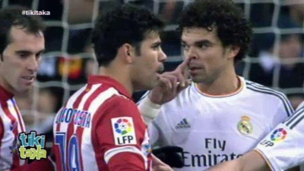 Otro incidente con Pepe: Diego Costa le acusa de tirarle 'mocos' en el área