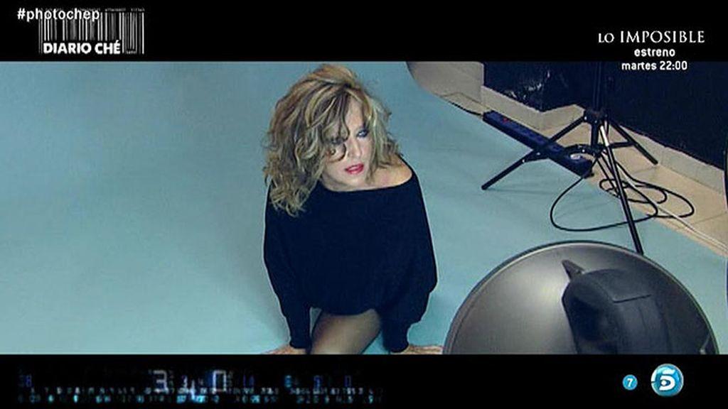 La sesión de fotos de Lydia en 'Diario Che'