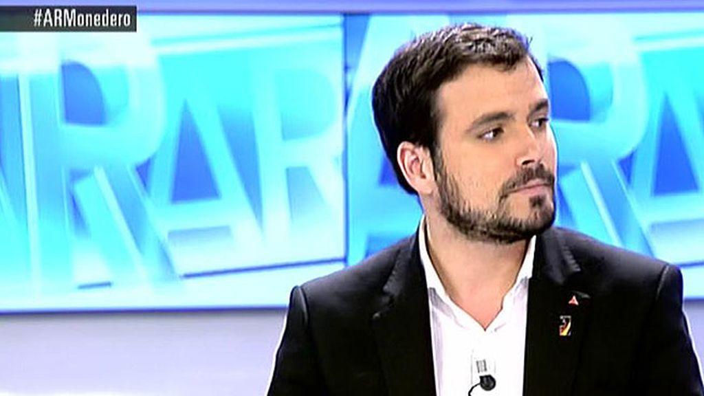 """Garzón: """"Podemos no defiende los valores y los principios de la izquierda"""""""
