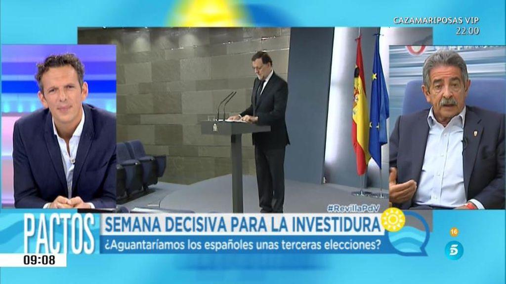 Ana Pastor o Cristina Cifuentes, las alternativas a Rajoy de Miguel Ángel Revilla