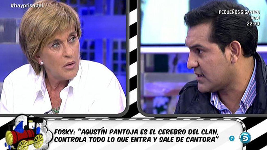 """Fosky: """"Chelo García Cortés ha sido el estropajo de Isabel Pantoja"""""""