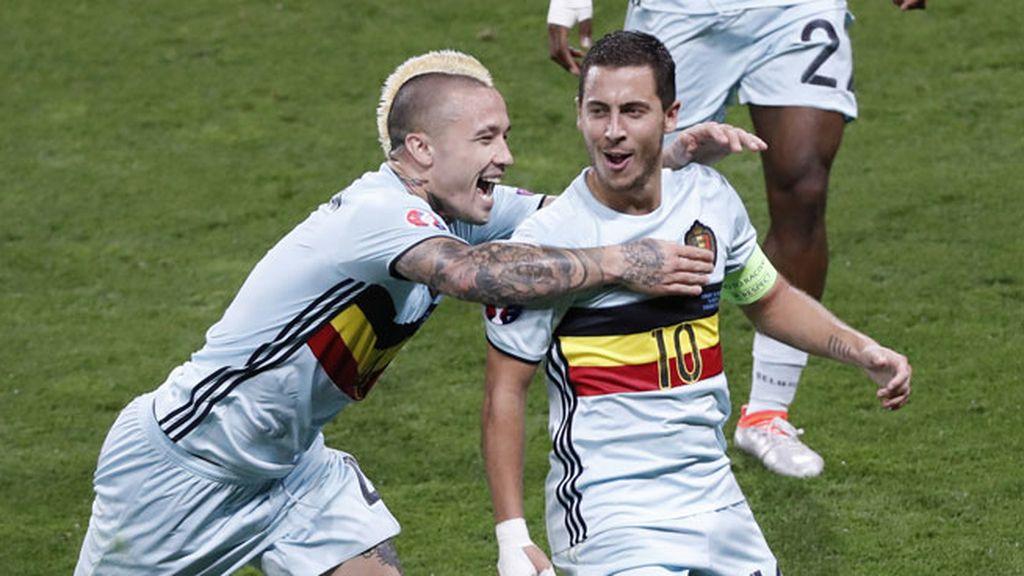 ¡Gol de Hazard! El belga tuvo su recompensa después de un gran partidazo (0-3)