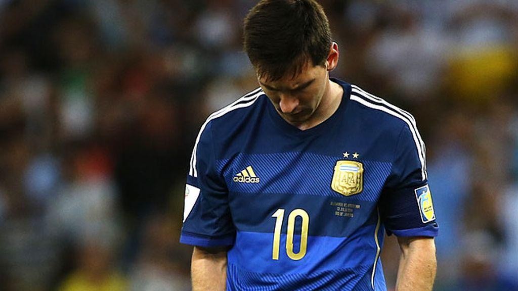 Leo Messi sufre la gran derrota de su vida
