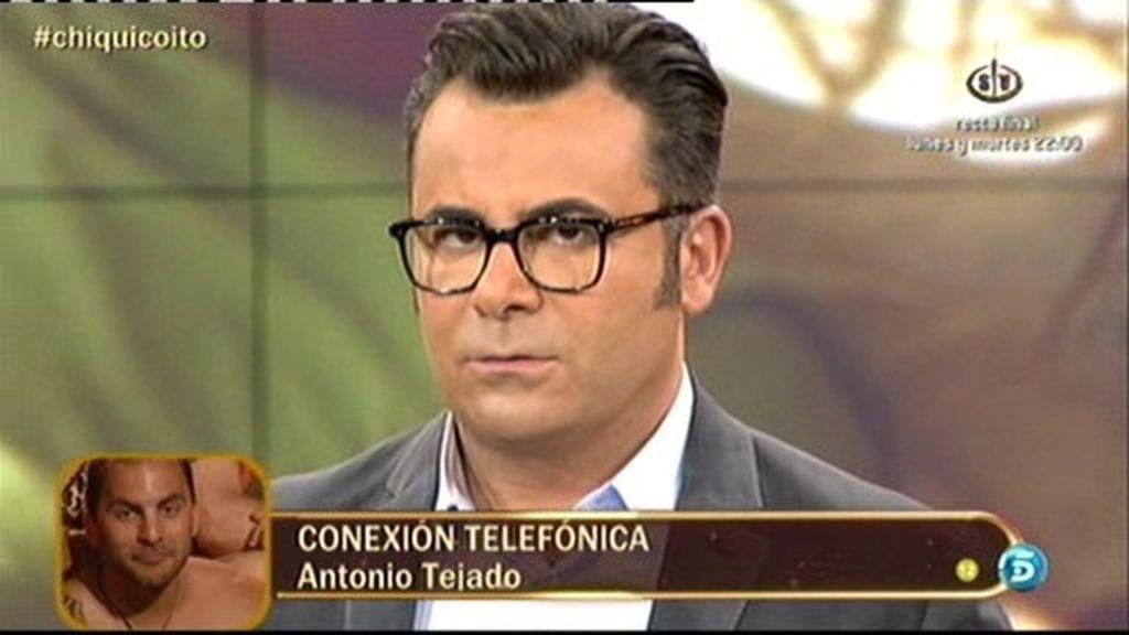 """Antonio Tejado: """"Aran nunca ha estado conmigo a solas en mi habitación"""""""