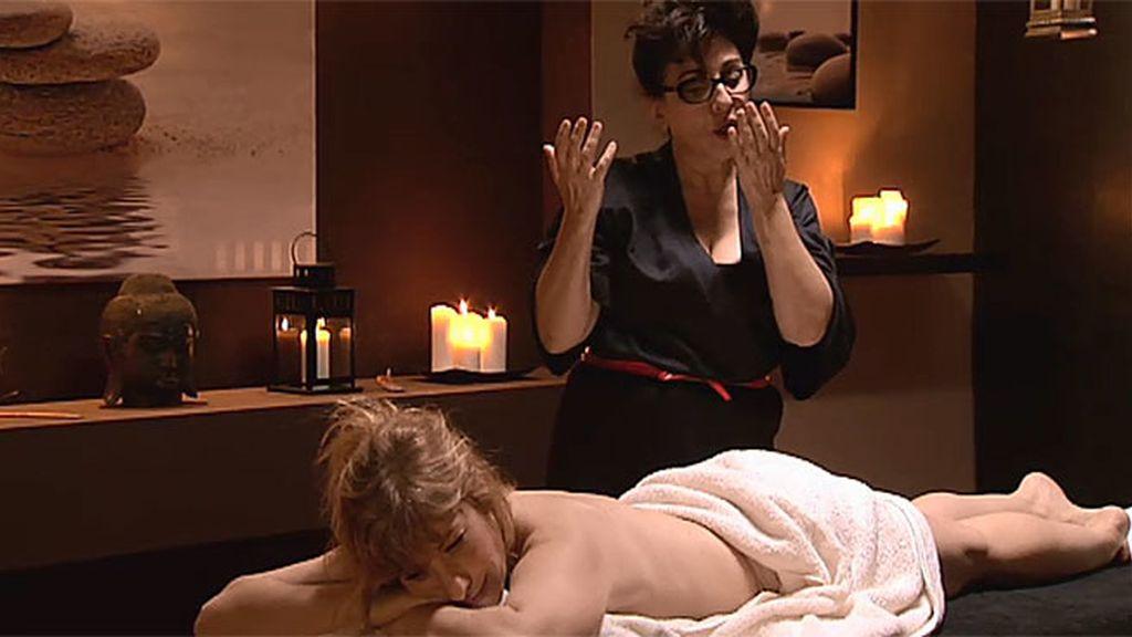 Araceli, Berta y el masaje con final agridulce