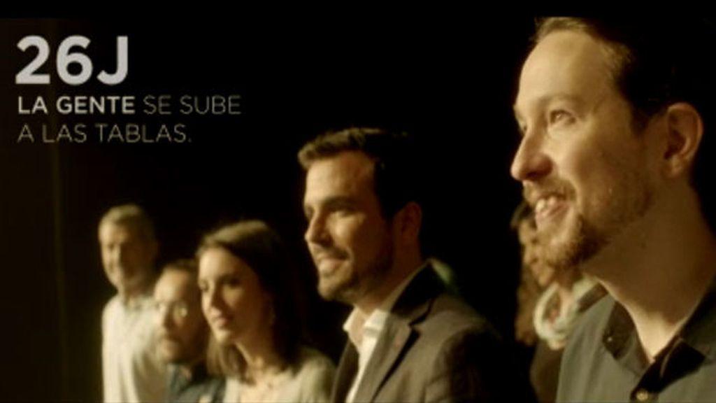'Tablas #YoNoMeLoPerdería', el segundo spot electoral de Unidos Podemos