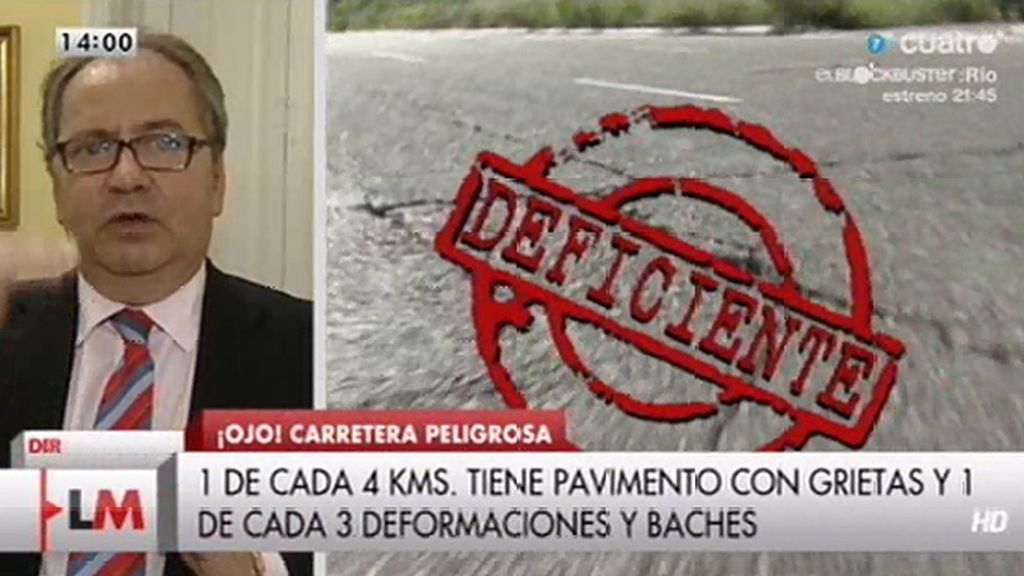 """Mario Arnaldo: """"Cuando se reducían las inversiones, los accidentes han repuntado como puede estar ocurriendo"""""""