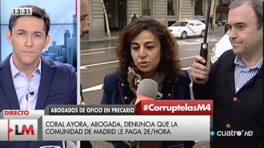 5000 abogados del turno de oficio de Madrid protestan por la precariedad laboral