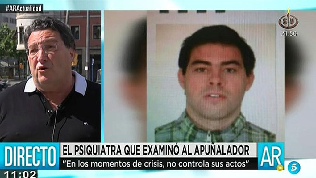 'AR' habla con Jaume Baró, el psiquiatra que trató al apuñalador de Lleida