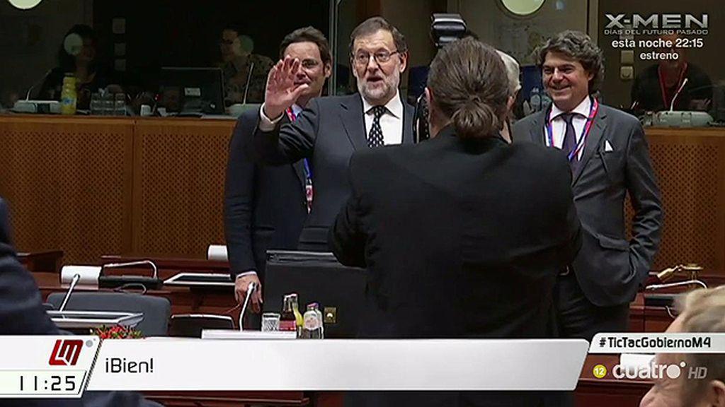 El lapsus de Rajoy demuestra que el PP da por hecho el triunfo en la investidura