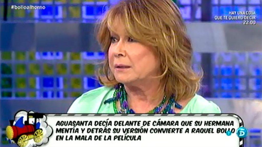 """Mila Ximénez: """"Aguasanta dice que no tuvo muchas más opciones"""""""