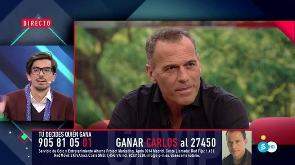 """Dani Santos, en su despedida a Carlos Lozano: """"Ponedme al siguiente"""""""