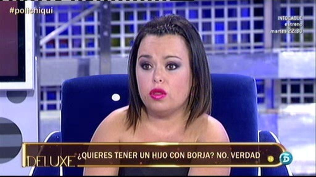 Tras todo lo ocurrido, Chiqui cambia de opinión, no quiere tener hijos con Borja