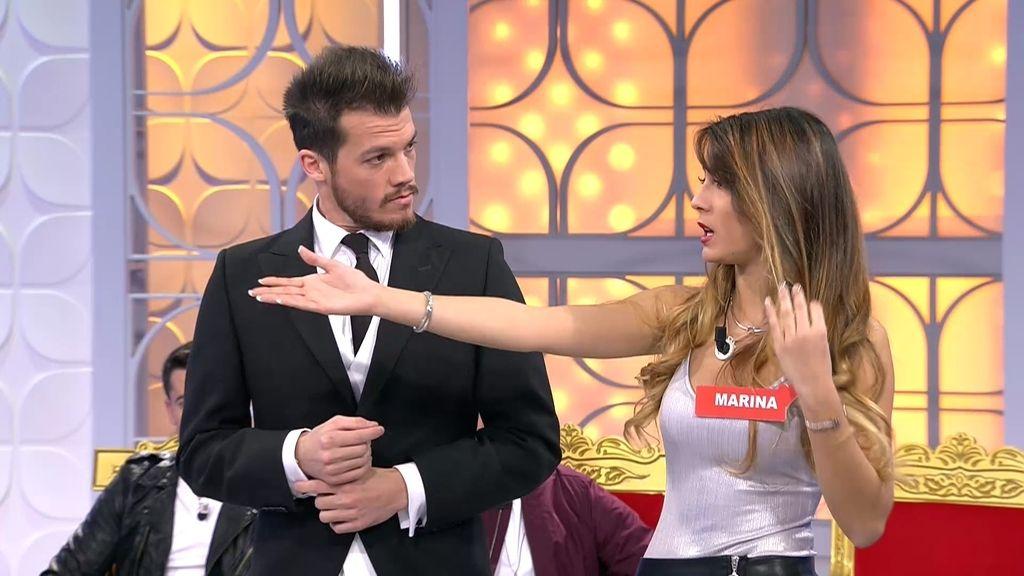 ¡¡Crisis en el trono!! Marina abandona el trono de Xavi después de cinco citas con él