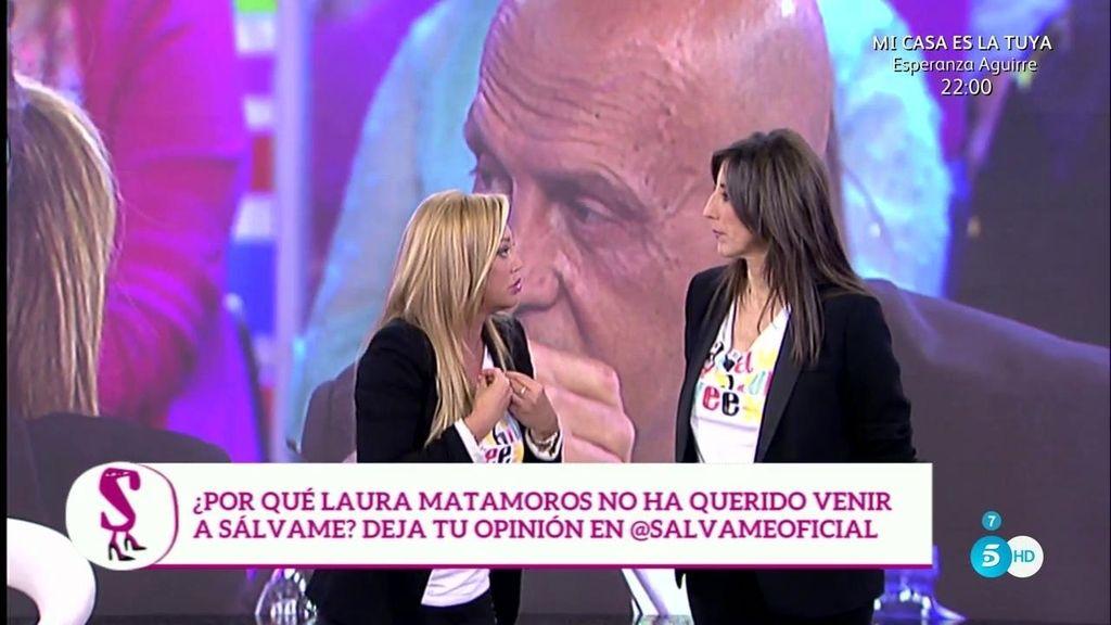 """Belén Esteban: """"Laura Matamoros quiere contar su verdad y su verdad es Makoke"""""""