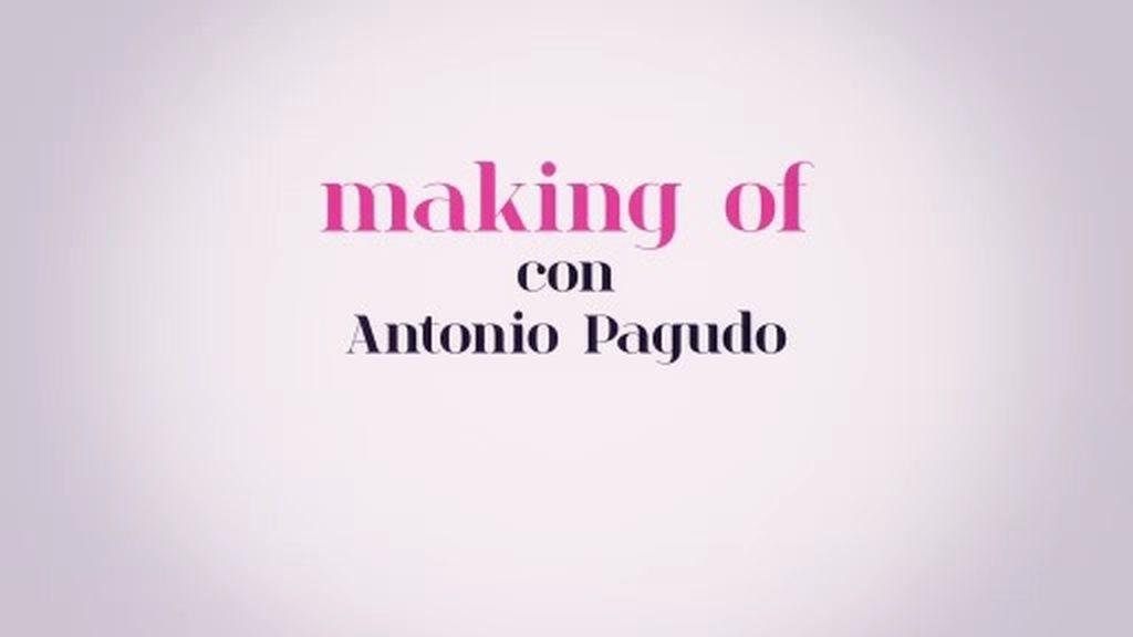 Lluvia morada y mucho estilo: el 'making of' de las fotos de Antonio Pagudo como 'Prince'