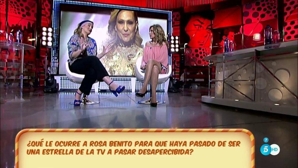 """Rosa Benito: """"No he utilizado a Jorge Javier"""""""