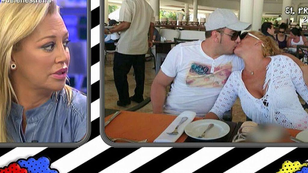 Las románticas vacaciones de Belén Esteban con su chico y sus amigos en Punta Cana