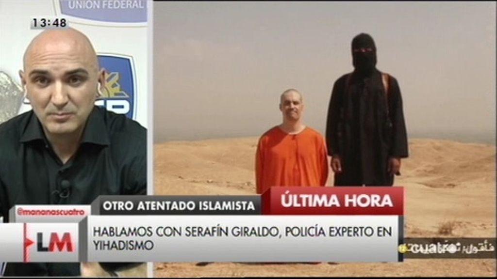 """Serafín Giraldo, experto en terrorismo: """"En España un atentado es posible, pero no viable"""""""