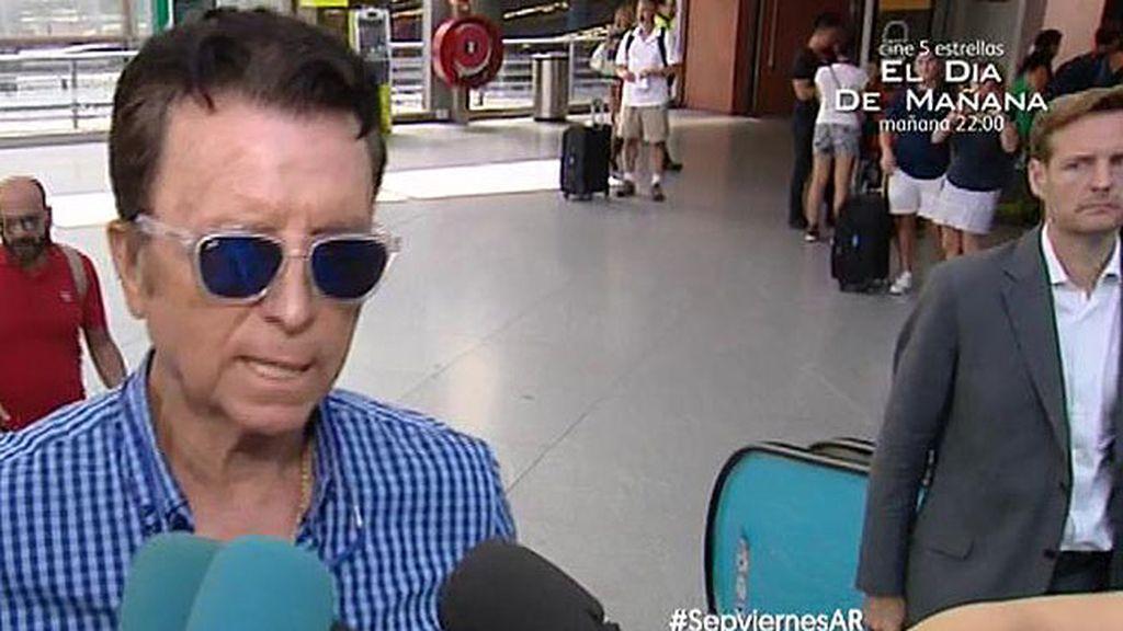 """Ortega Cano: """"José Fernando está con la idea de mejorar. Esperemos que sea así"""""""