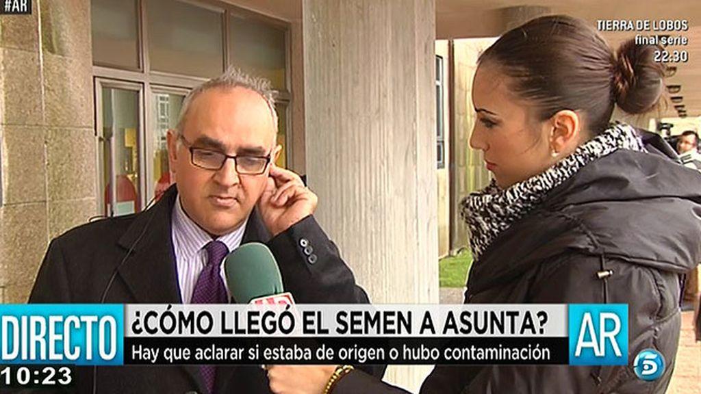 """El abogado del 'hombre del semen': """"Creemos que la contaminación se produjo en el laboratorio"""""""