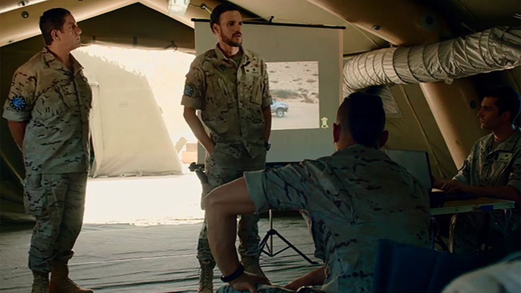 """Coronel Villegas: """"Vais a demostrar que sois el mejor equipo de fuerzas especiales"""""""
