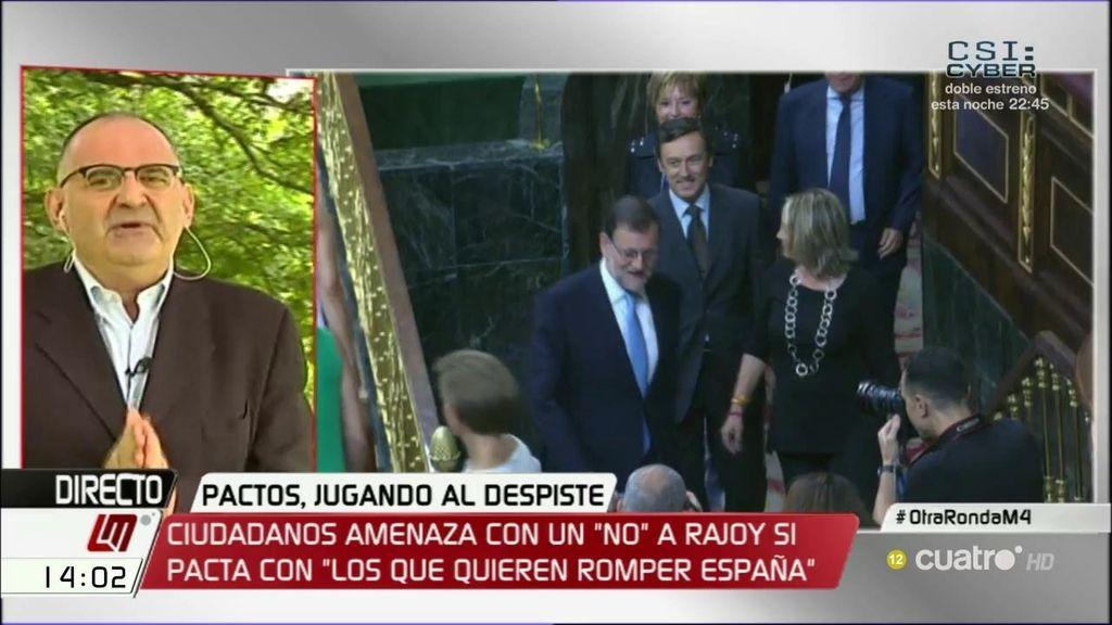 """Antón Losada: """"Rajoy es profundamente marxista, pero de Groucho Marx"""""""